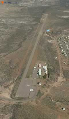 Aerial photo of 4AZ7 (San Carlos Airport)