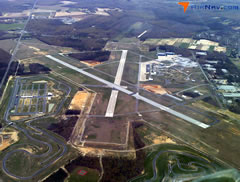 Aerial photo of KMIV (Millville Municipal Airport)