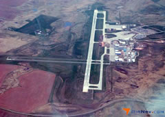 Aerial photo of KRAP (Rapid City Regional Airport)