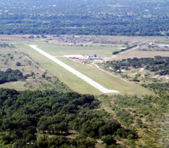 Aerial photo of T50 (Menard County Airport)