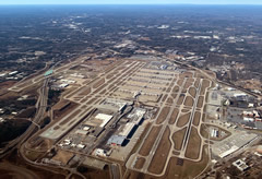 Aerial photo of KATL (Hartsfield - Jackson Atlanta International Airport)