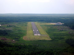 Aerial photo of KELO (Ely Municipal Airport)