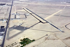 Aerial photo of KHTH (Hawthorne Industrial Airport)