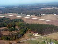 Aerial photo of 13C (Lakeview Airport-Griffith Field)