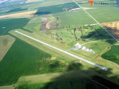 Aerial photo of 9F8 (Hoven Municipal Airport)