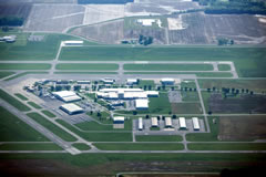 Aerial photo of KMDH (Southern Illinois Airport)