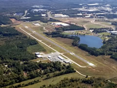 Aerial photo of KCVC (Covington Municipal Airport)