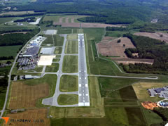 Aerial photo of KUNV (University Park Airport)