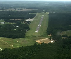 Aerial photo of 25M (Ripley Airport)