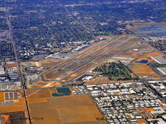 Aerial photo of KFAT (Fresno Yosemite International Airport)
