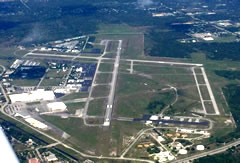 Aerial photo of KVRB (Vero Beach Regional Airport)