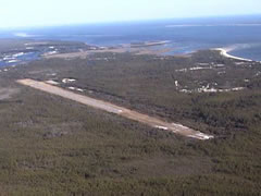 Aerial photo of X13 (Carrabelle-Thompson Airport)