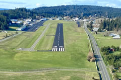 Aerial photo of KFHR (Friday Harbor Airport)
