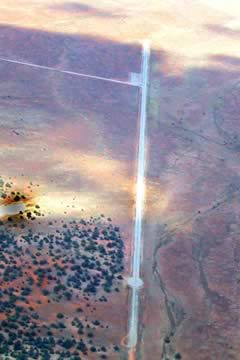 Aerial photo of 3AZ5 (Hualapai Airport)