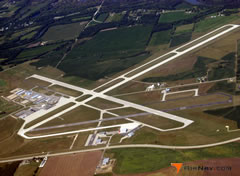 Aerial photo of KJVL (Southern Wisconsin Regional Airport)