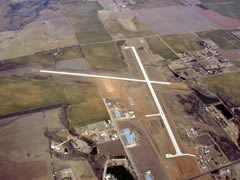 Aerial photo of 9K8 (Kingman Airport - Clyde Cessna Field)