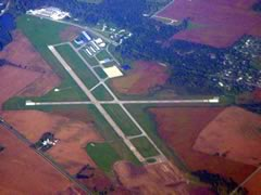Aerial photo of KMZZ (Marion Municipal Airport)