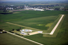 Aerial photo of KCAV (Clarion Municipal Airport)