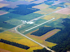 Aerial photo of KPJY (Pinckneyville-Du Quoin Airport)