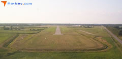 Aerial photo of KBAX (Huron County Memorial Airport)