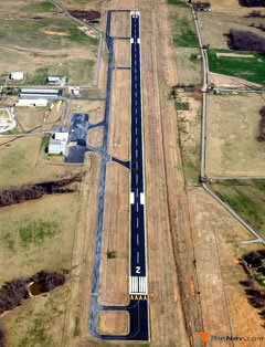 Aerial photo of KFYM (Fayetteville Municipal Airport)