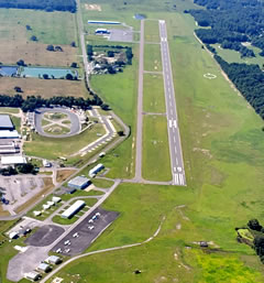 Aerial photo of KINF (Inverness Airport)