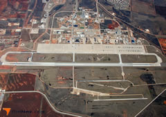Aerial photo of KDYS (Dyess Air Force Base)