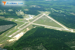 Aerial photo of KELD (South Arkansas Regional Airport at Goodwin Field)