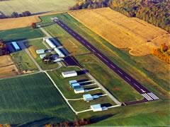 Aerial photo of 3G4 (Ashland County Airport)