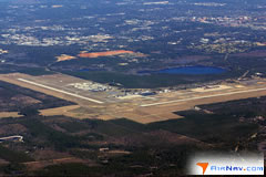 Aerial photo of KTLH (Tallahassee International Airport)