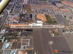Aerial photo of KOJA (Thomas P Stafford Airport)