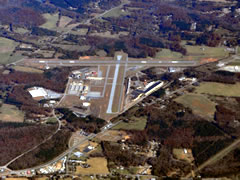 Aerial photo of KWDR (Barrow County Airport)