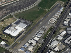 Aerial photo of KOKB (Bob Maxwell Memorial Airfield)