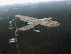 Aerial photo of KMJX (Ocean County Airport)