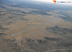 Aerial photo of KRPX (Roundup Airport)