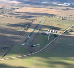 Aerial photo of KBYY (Bay City Regional Airport)