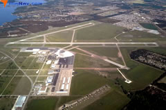 Aerial photo of KACT (Waco Regional Airport)
