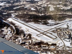 Aerial photo of KAUG (Augusta State Airport)