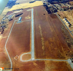 Aerial photo of F68 (Anadarko Municipal Airport)