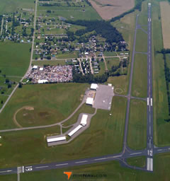 Aerial photo of KDVK (Stuart Powell Field Airport)