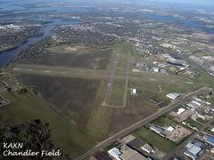 Aerial photo of KAXN (Chandler Field Airport)