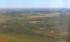 Aerial photo of KPRZ (Portales Municipal Airport)