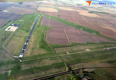 Aerial photo of KANW (Ainsworth Regional Airport)