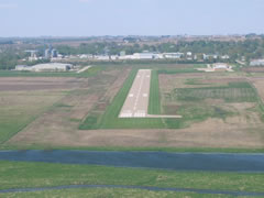 Aerial photo of KTZT (Belle Plaine Municipal Airport)