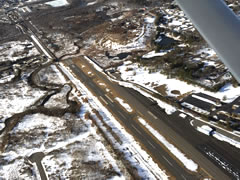 Aerial photo of 4B8 (Robertson Field Airport)