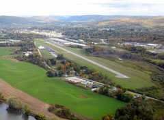 Aerial photo of N23 (Sidney Municipal Airport)