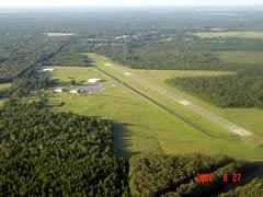 Aerial photo of KBQP (Morehouse Memorial Airport)