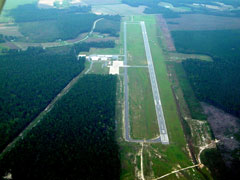 Aerial photo of KDPL (Duplin County Airport)