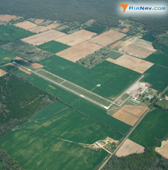 Aerial photo of KHEE (Thompson-Robbins Airport)