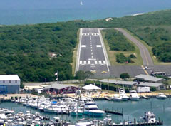 Aerial photo of KMTP (Montauk Airport)